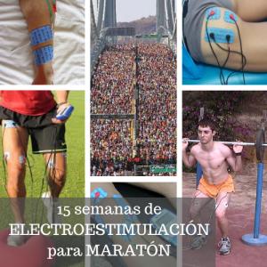 Entrenamiento para maratón con compex